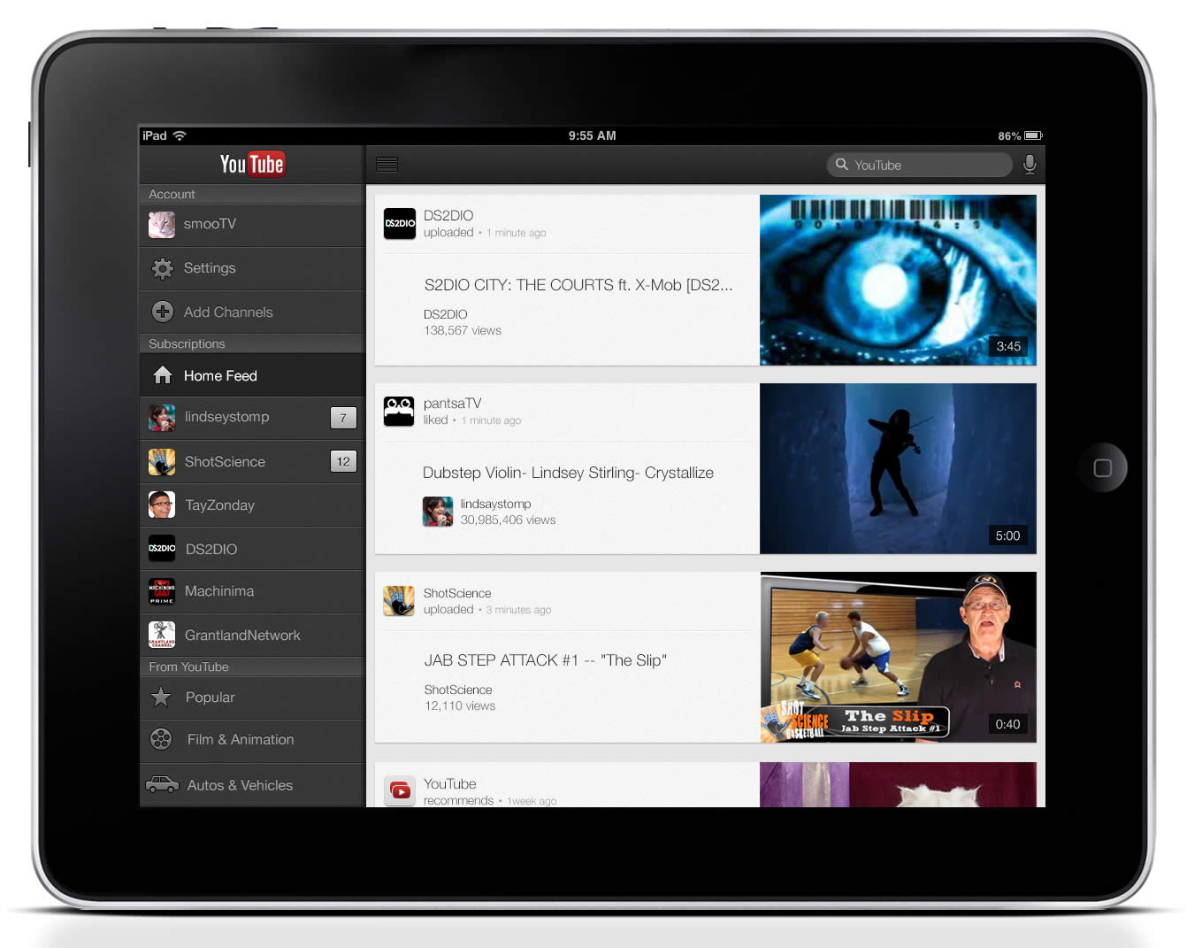 YouTube App Will Include Offline Viewing - OPUSfidelis