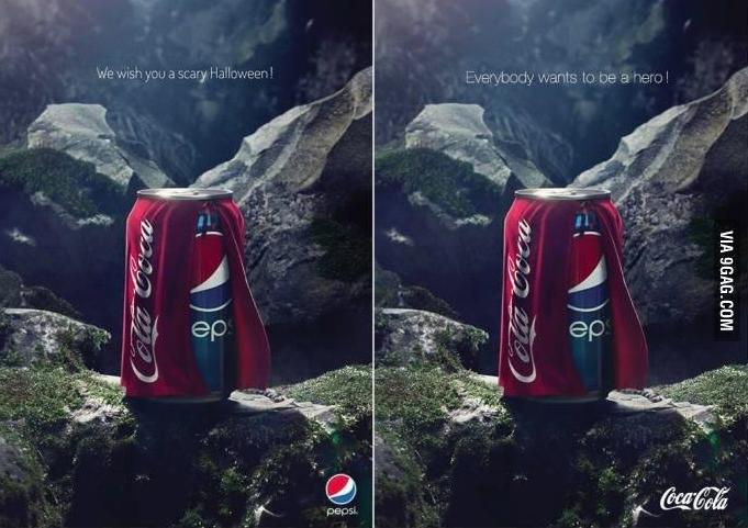 A Pepsi Halloween - OPUSfidelis