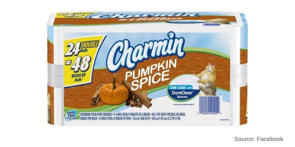 Pumpkin spice toilet paper