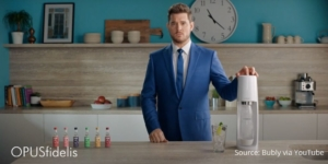 Bubly soda stream with Buble