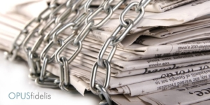 news papers in chains