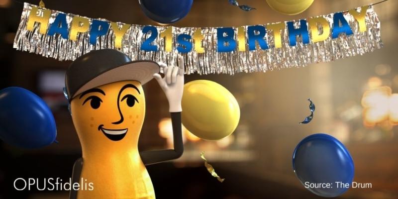 Mr. Peanut Birthday Party