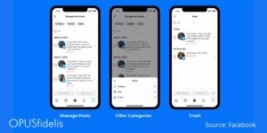 Facebook Manage posts