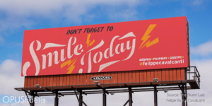 Unique billboard campaign supports artists and community
