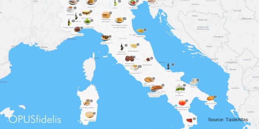 tasteatlas global food map