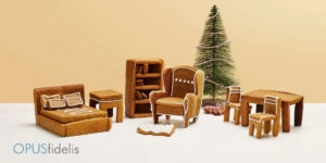 Ikea gingerbread furniture