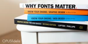 graphic design font books