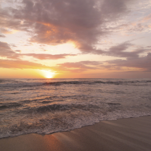 Sunset off the Coast of Costa Rica