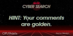 Wendy's Cybersearch Banner