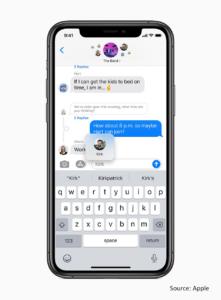 Apple threading new ios14